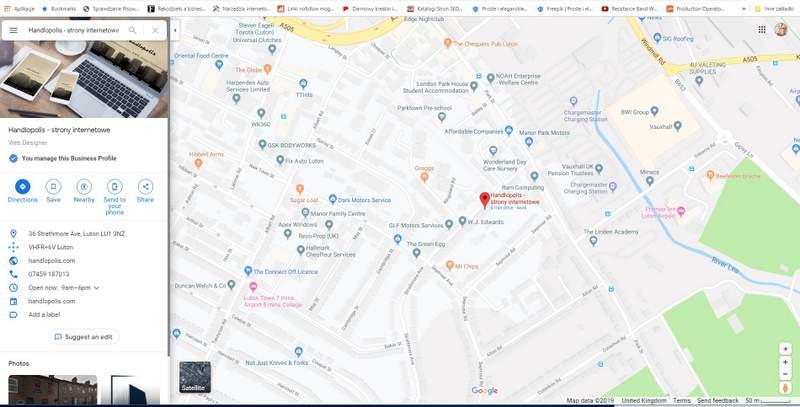 Twoja firma w Google Maps